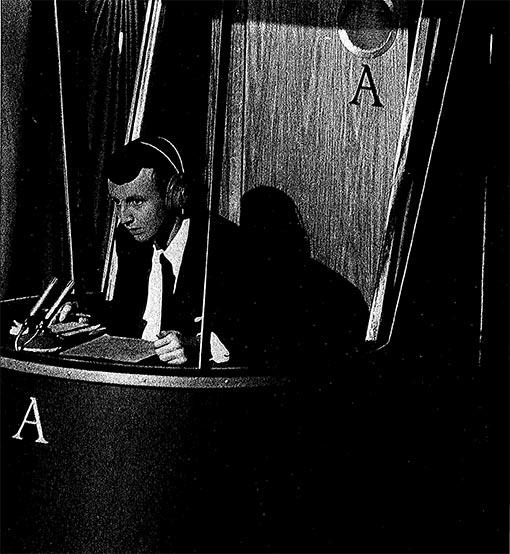 """Edmund Asbøll vant i 1966 kunnskapskonkurransen """"Kvitt eller Dobbelt"""" på NRK. Temaet var John F. Kennedy."""