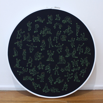 Alien Embroidery, 2015