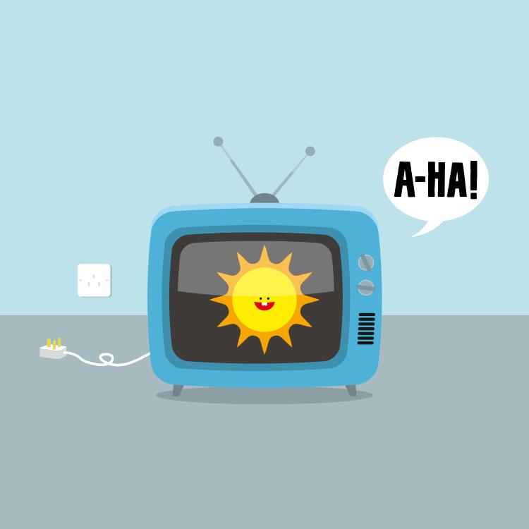 a-ha, The Sun Always Shines on TV