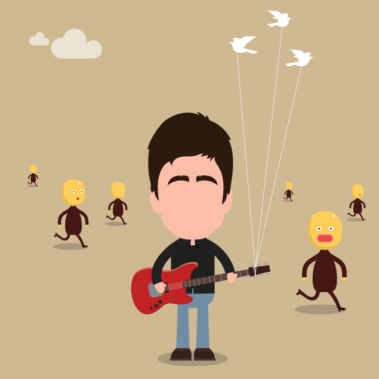Noel Gallagher's High Flying Birds,Everybody's on the Run
