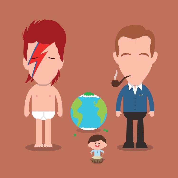 David Bowie & Bing Crosby, Peace on Earth/Little Drummer Boy