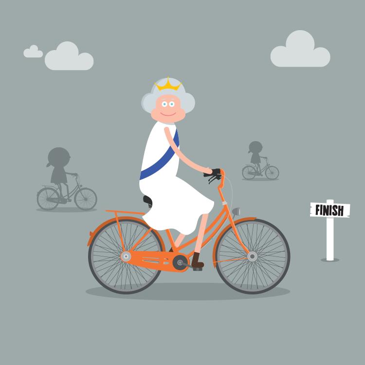Queen, Bicycle Race