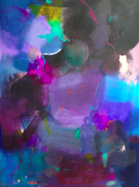 dusk   SOLD   36 x 48 canvas