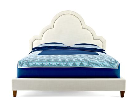 crescent heights upholstered queen bed
