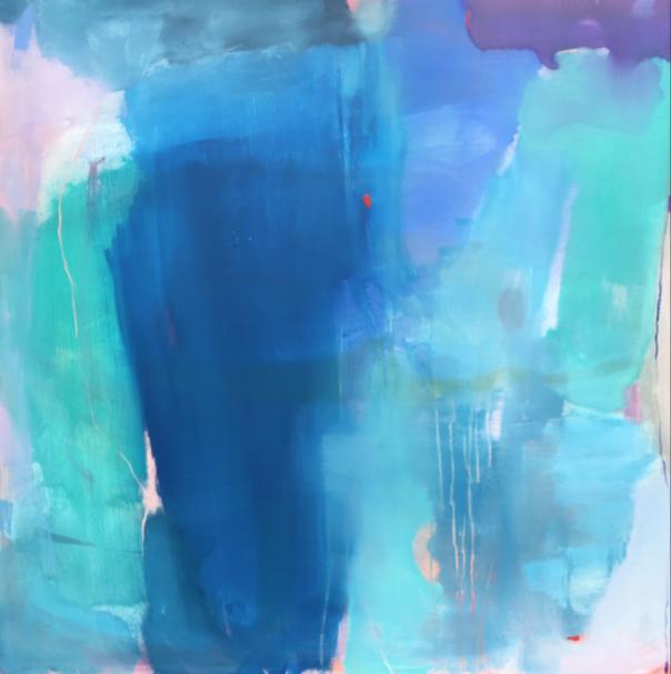 blue foot  40 x 40