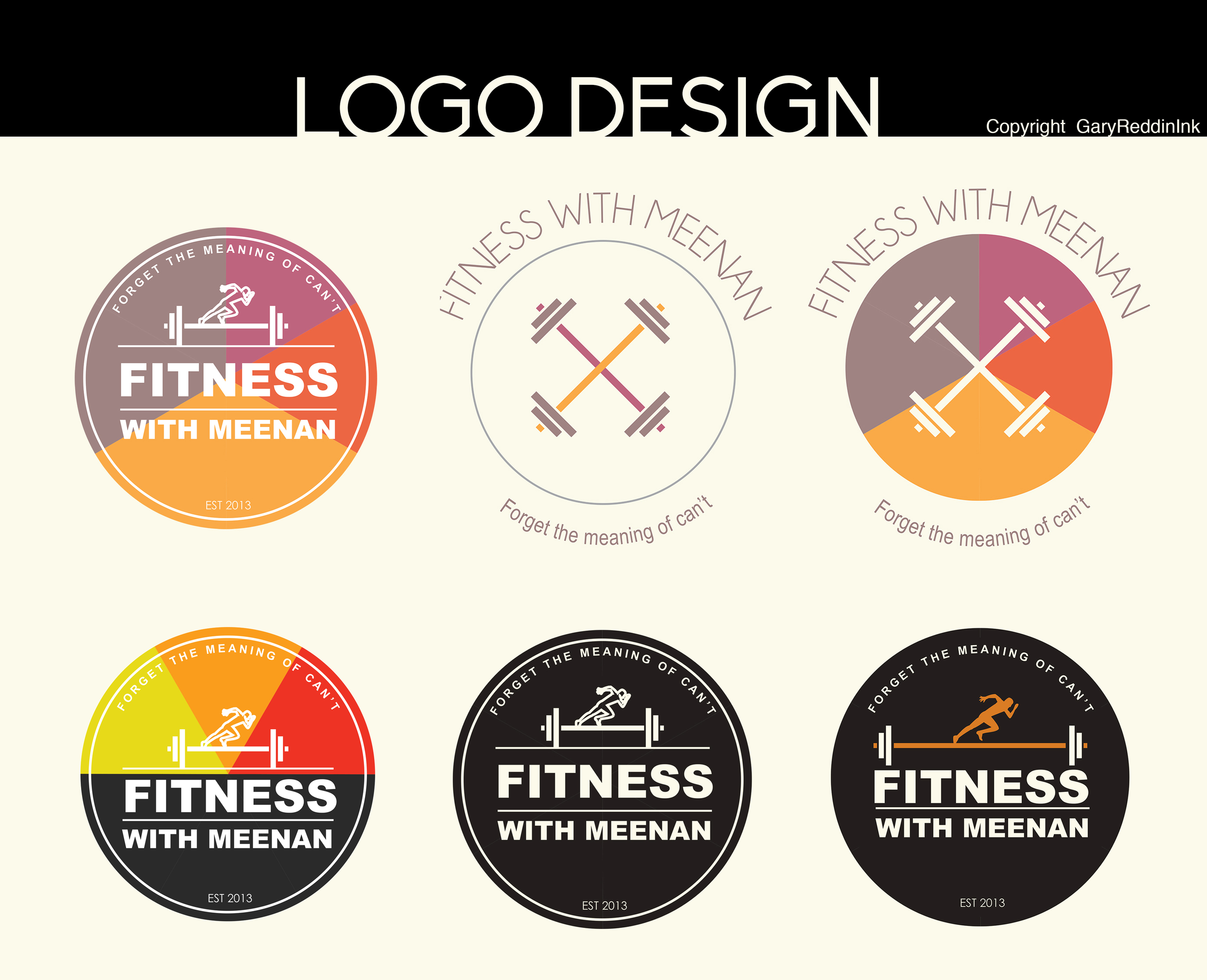 I spent last weekend working with Mr. Gavin Meenan designing a logo his new business