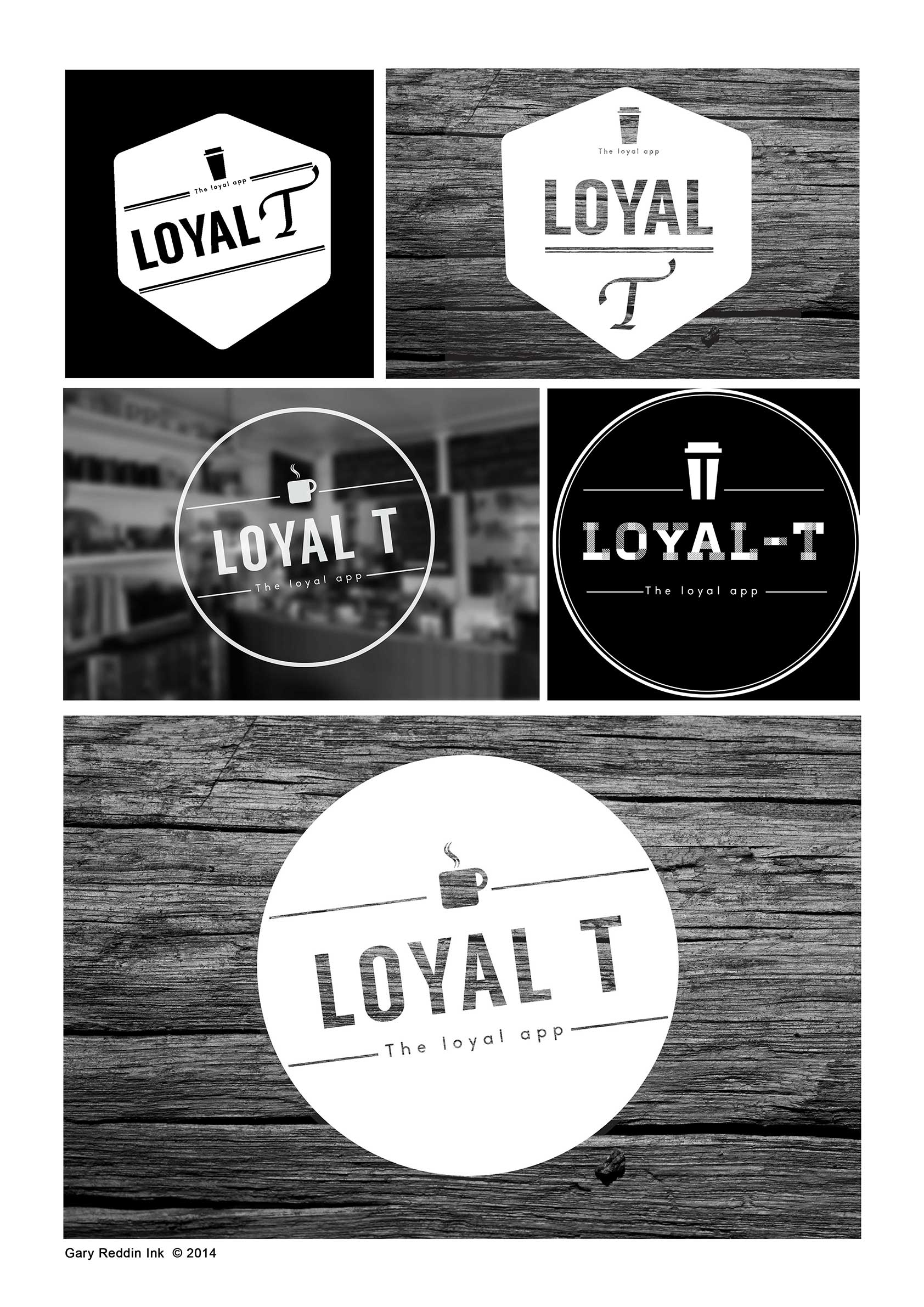 The new logo for 'Loyal-T' an awesome company developing ingenious apps check them out http://loyalt.net/