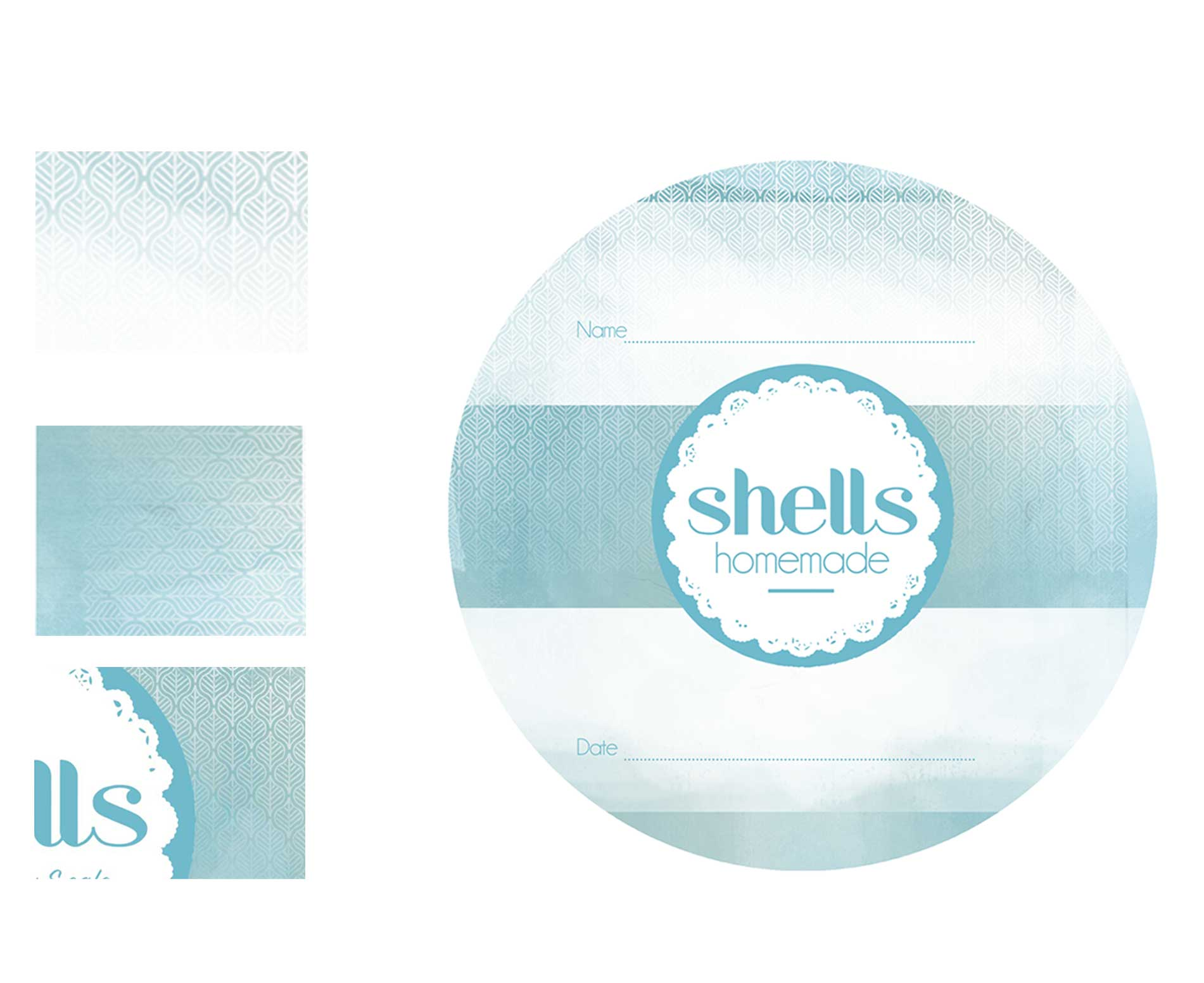 Working on these beautiful labelswith the wonderful Jane and Miles of 'Shells Cafe' in Strandhill, Ireland