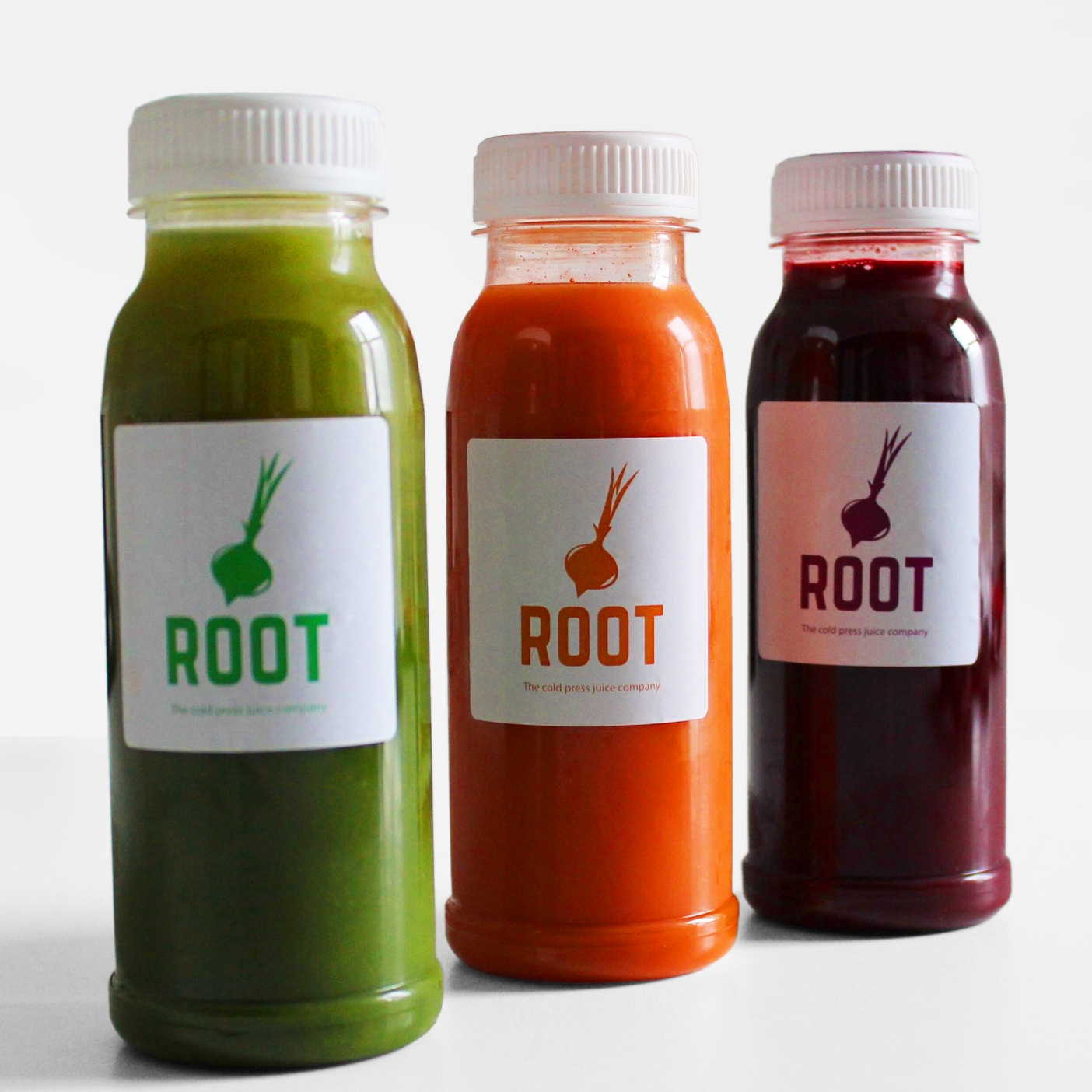 Reddin Designs root juice branding