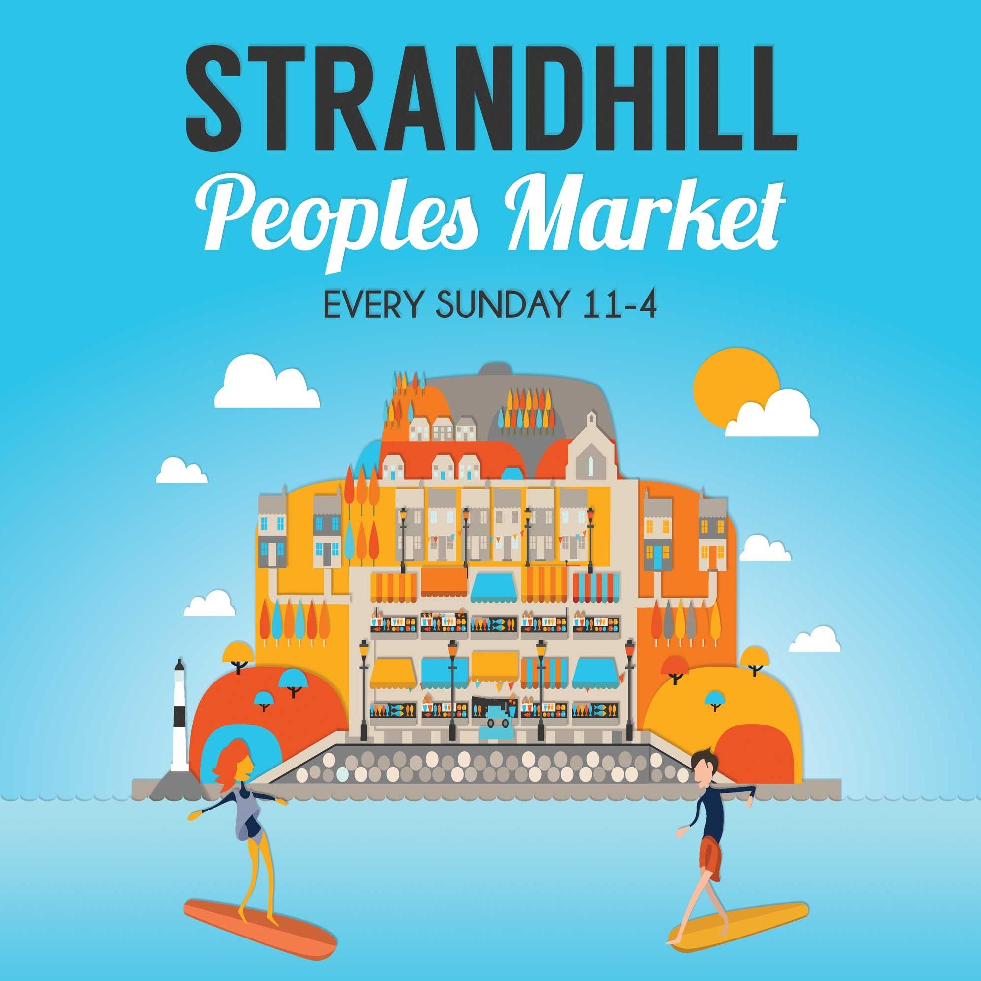 Reddin designs Strandhill peoples market poster
