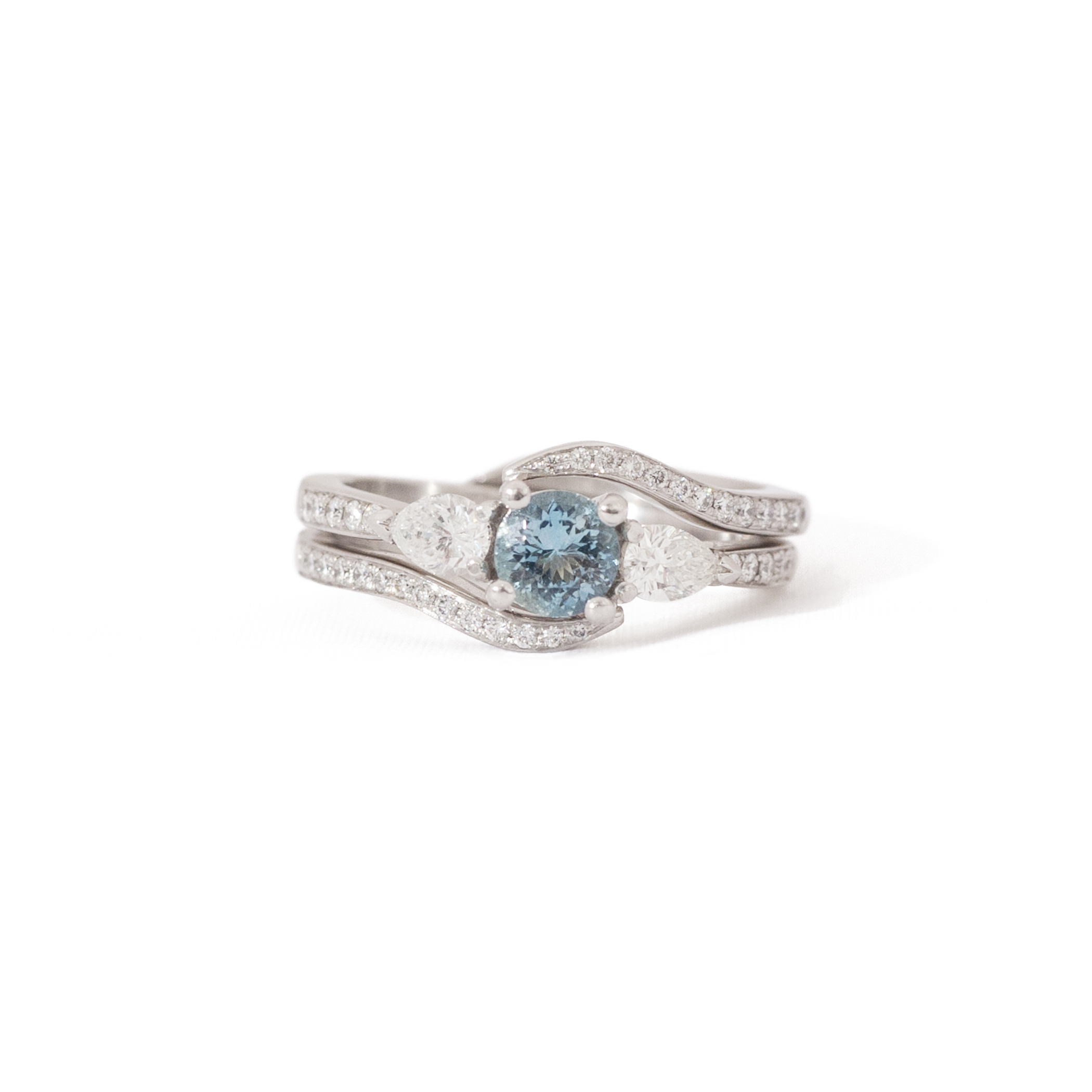 Jamie's Custom Wedding Bands & Engagement Ring
