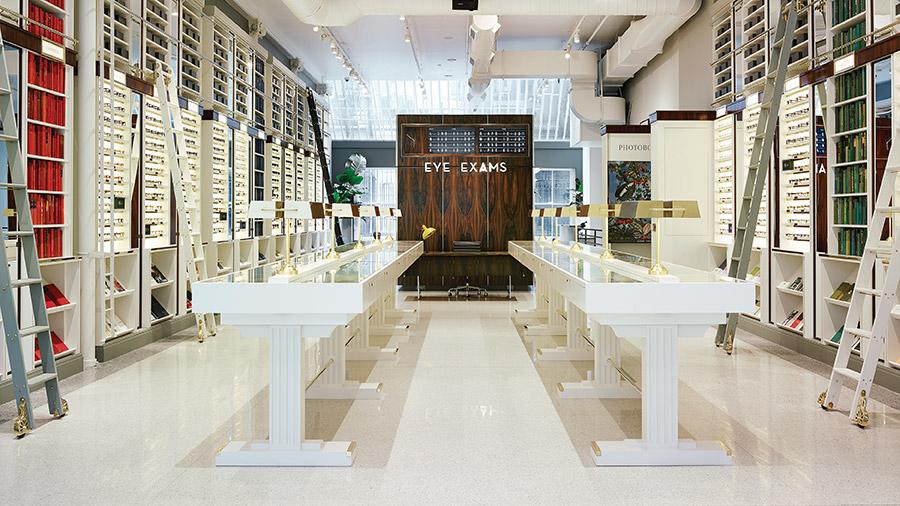 Warby Parker Store in Soho, NY