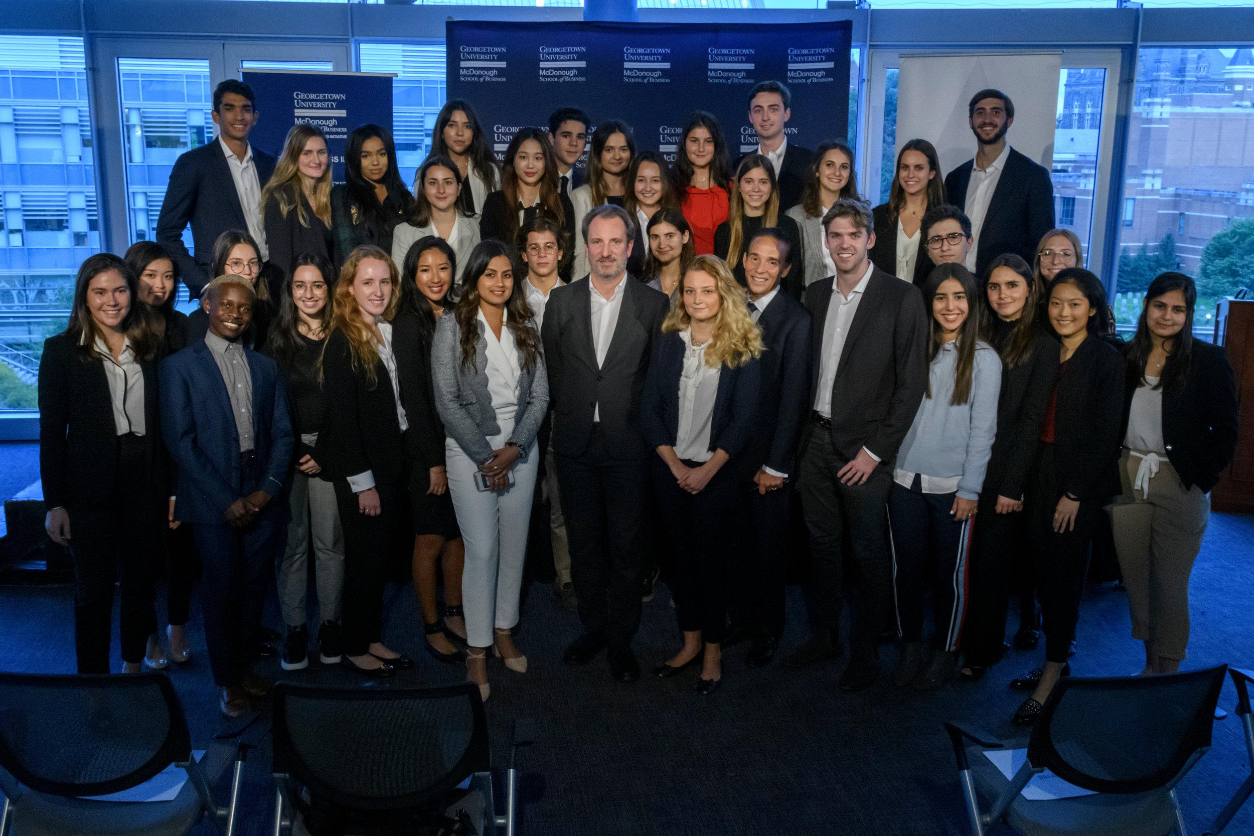 GRLA Team, Alessandro Bogliolo, Tiffany & Co.'s CEO and Ricardo Ernst