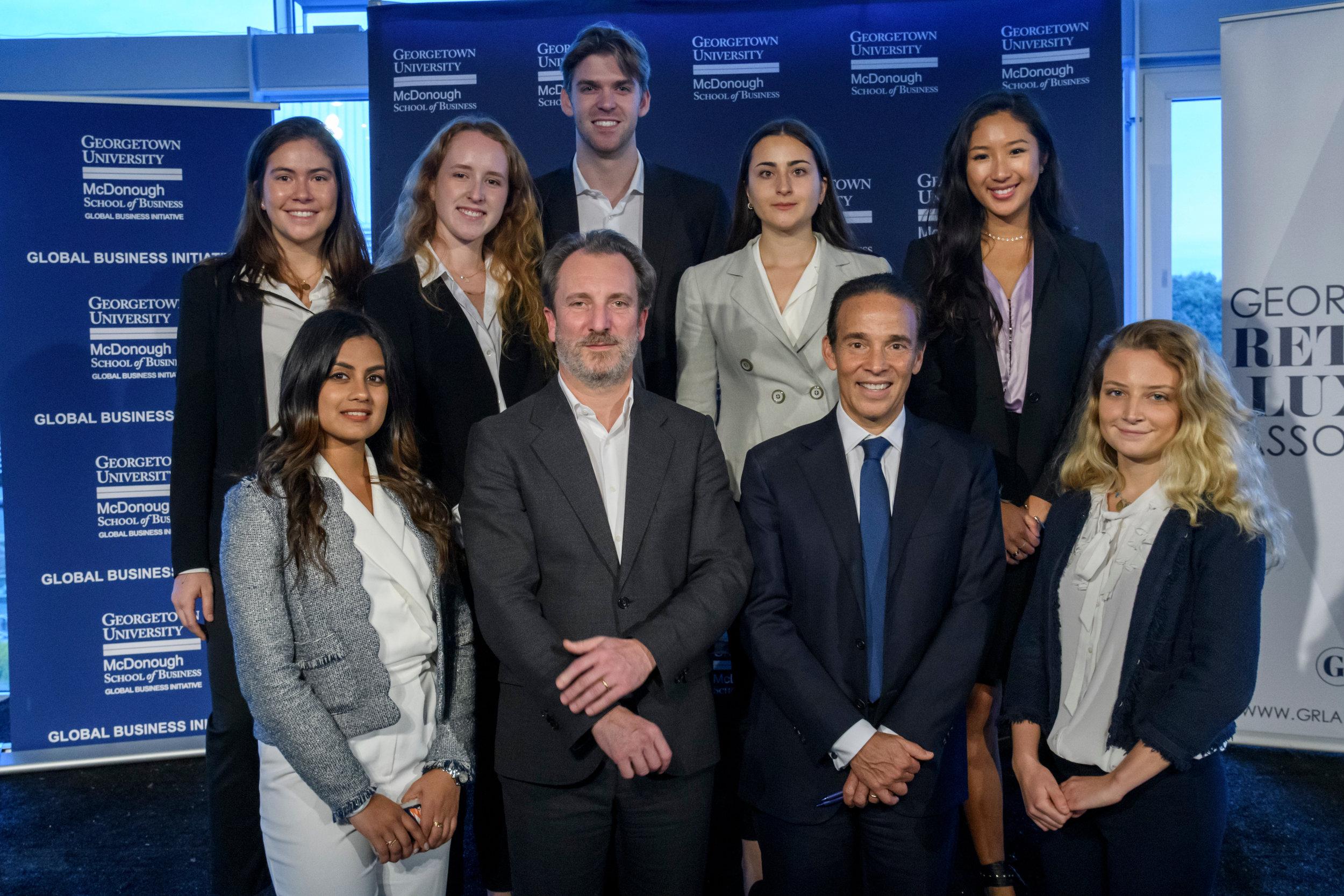 GRLA Board of Directors, Alessandro Bogliolo, Tiffany & Co.'s CEO and Ricardo Ernst