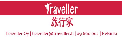 Yhteistyössä Travellerin kanssa joka toimii vastuullisena matkanjärjestänä