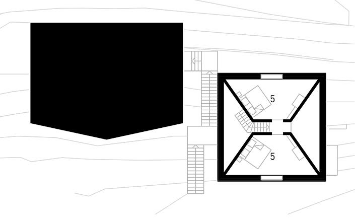 Obergeschoss . Piano superiore . Second floor