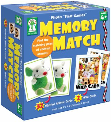 Photo First Memory Match Card Game