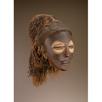 Chokwe mask from Congo, National Museum of African Art