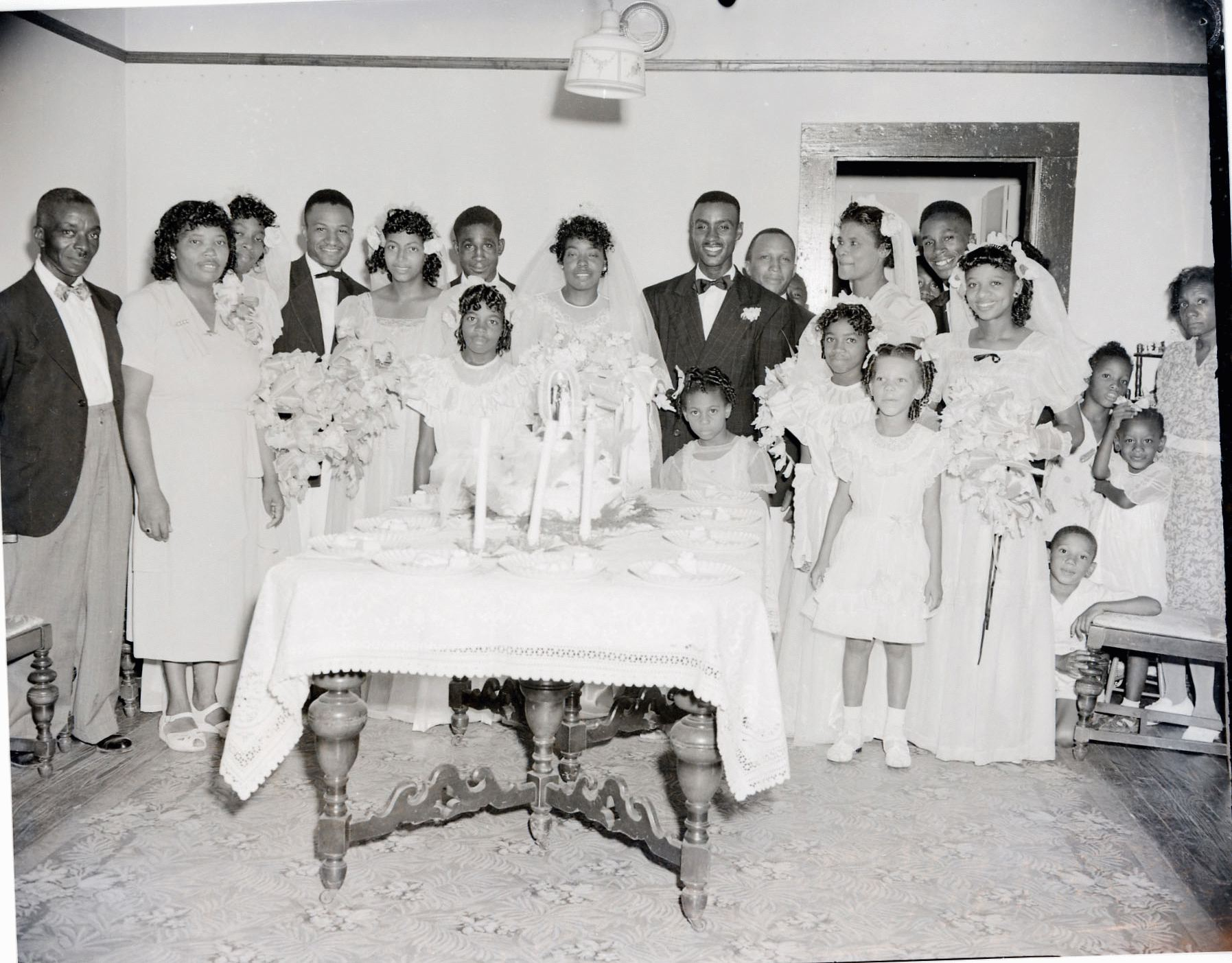 Wedding photo from the Scafidi Collection