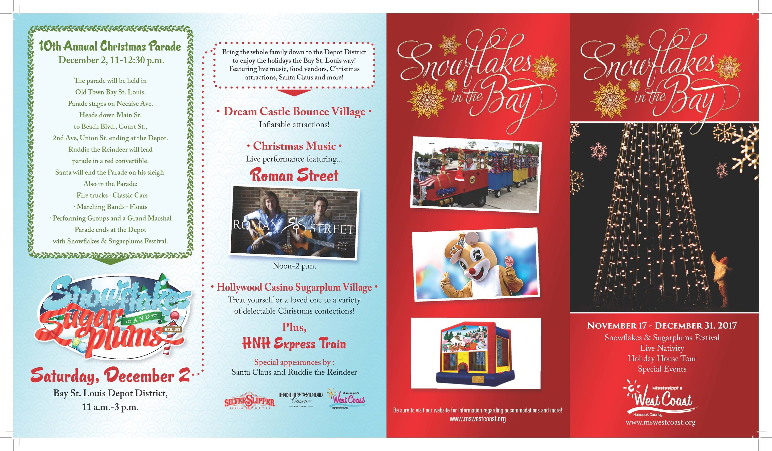 Snowflakes in the Bay brochure