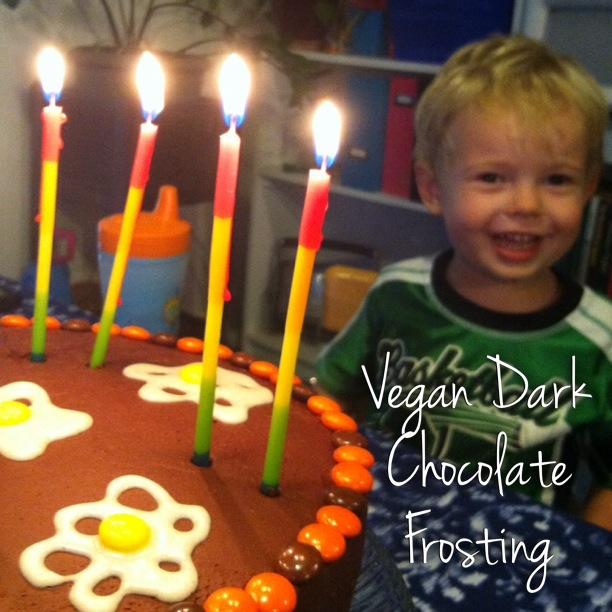 vegan chocolate frosting