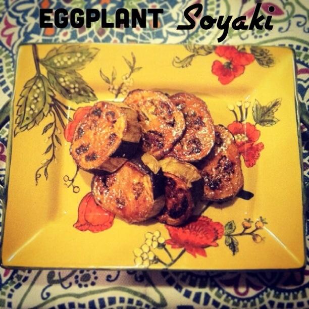 eggplant soyaki