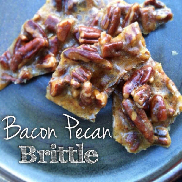 bacon pecan brittle