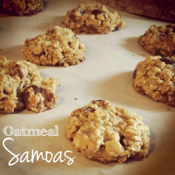 Oatmeal Samoas