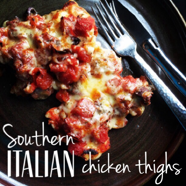 southern Italian Chicken Thighs