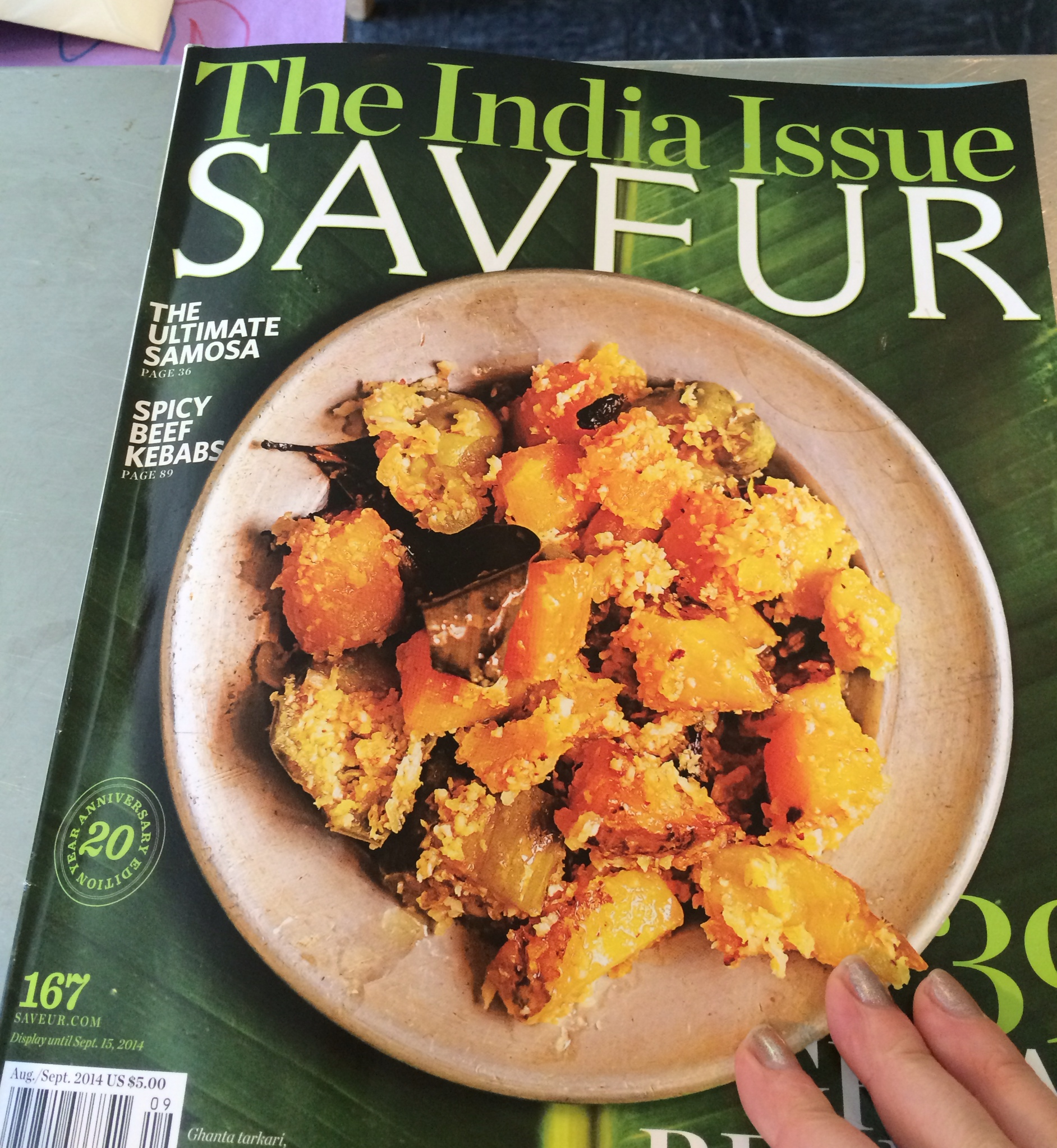 The India Issue of Saveur Magazine