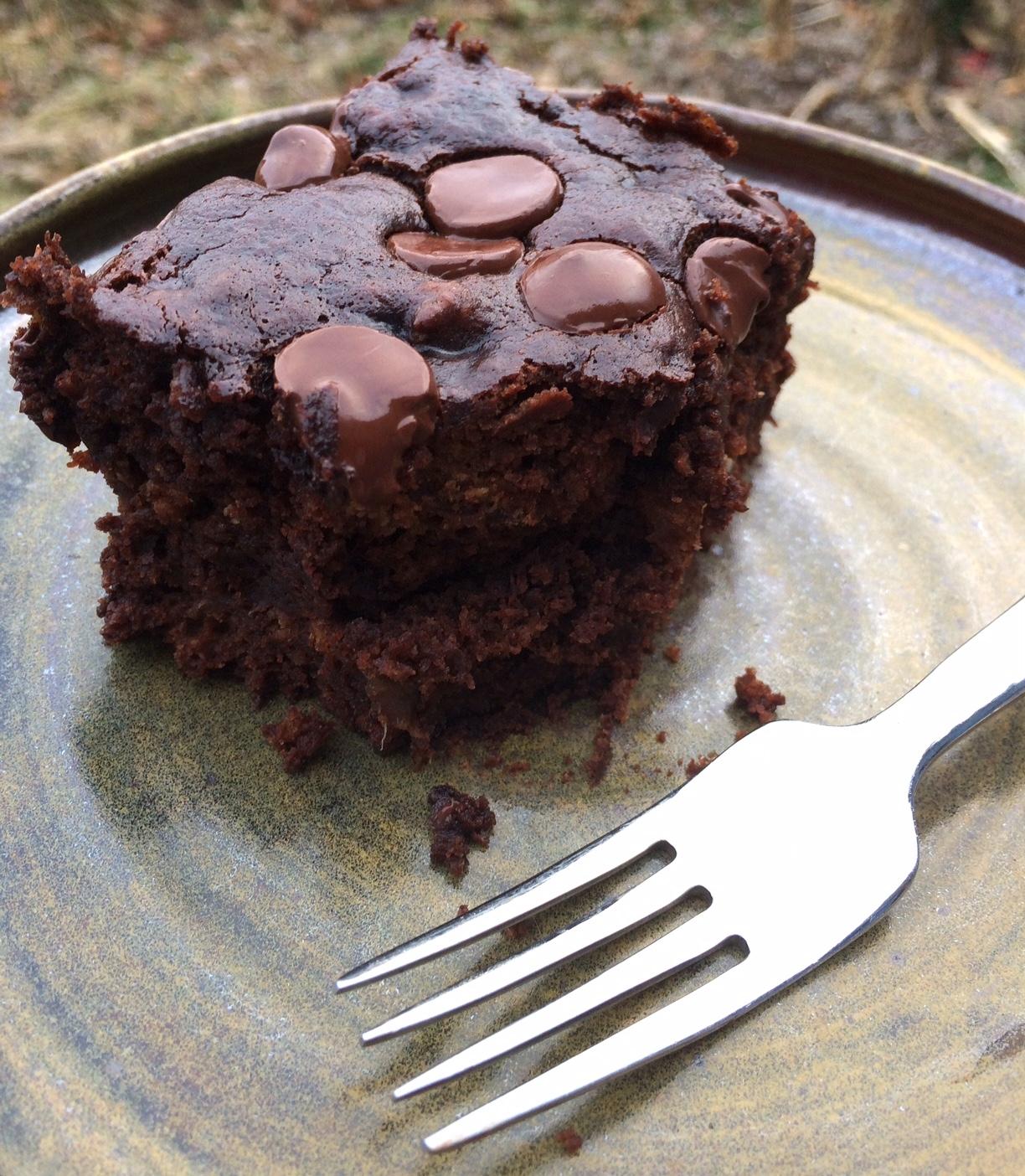 Snackcake ready for devouring.