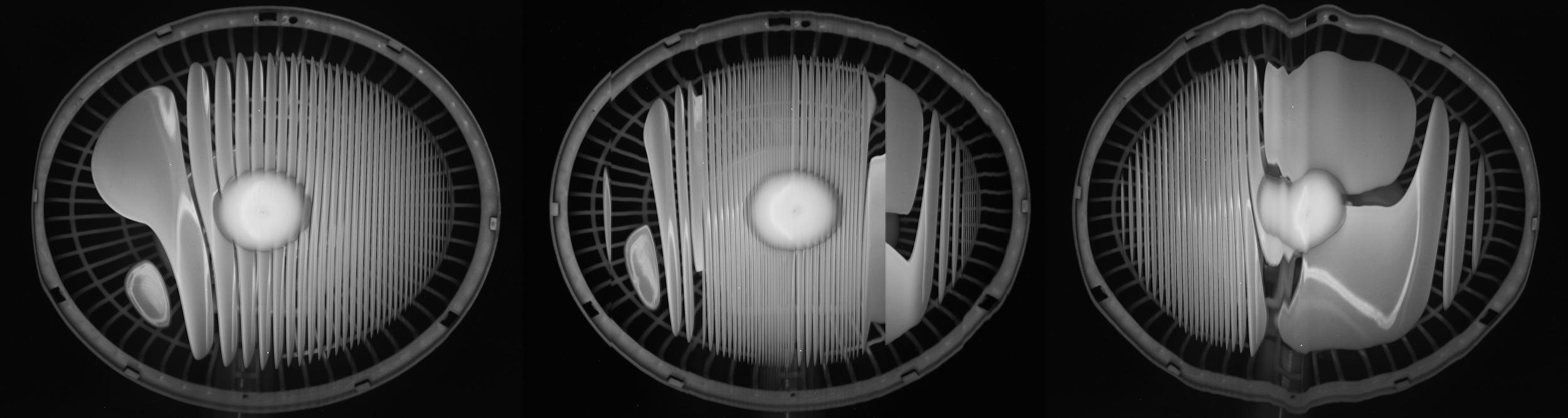 Marcel Duchamp's Biggest Fans (2015)  Electric Fan scanned using a Canoscan 3200F.