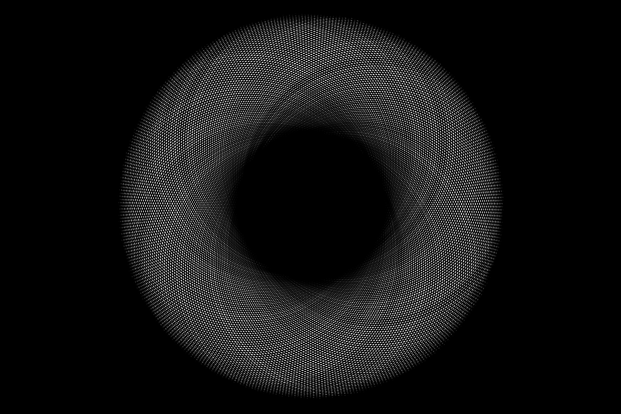 Dark Field  Manual repetition of circles in Adobe Photoshop CC. (2013)