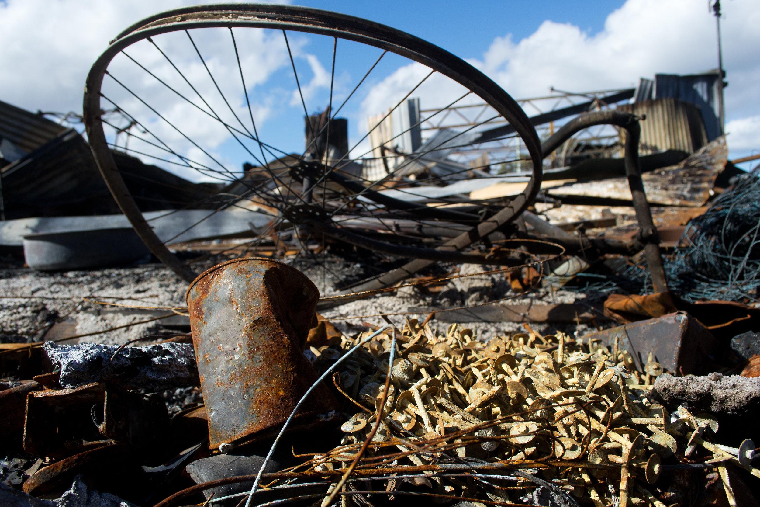 2013-02-28 - Tasmania - Dunalley after the fires - D3100  - DSC_0227.jpg