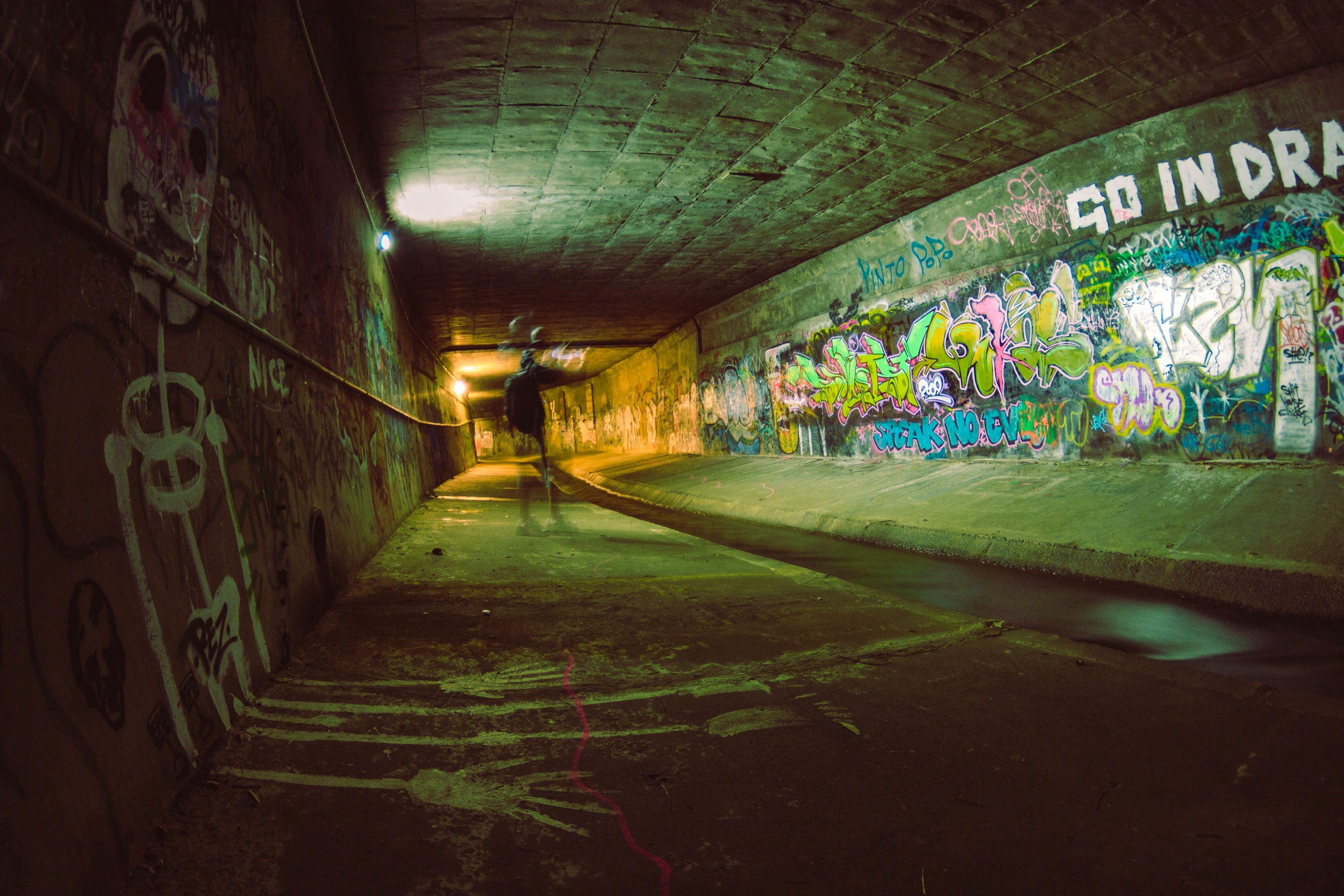 Rivulet section underneath Hobart CBD | (2011)