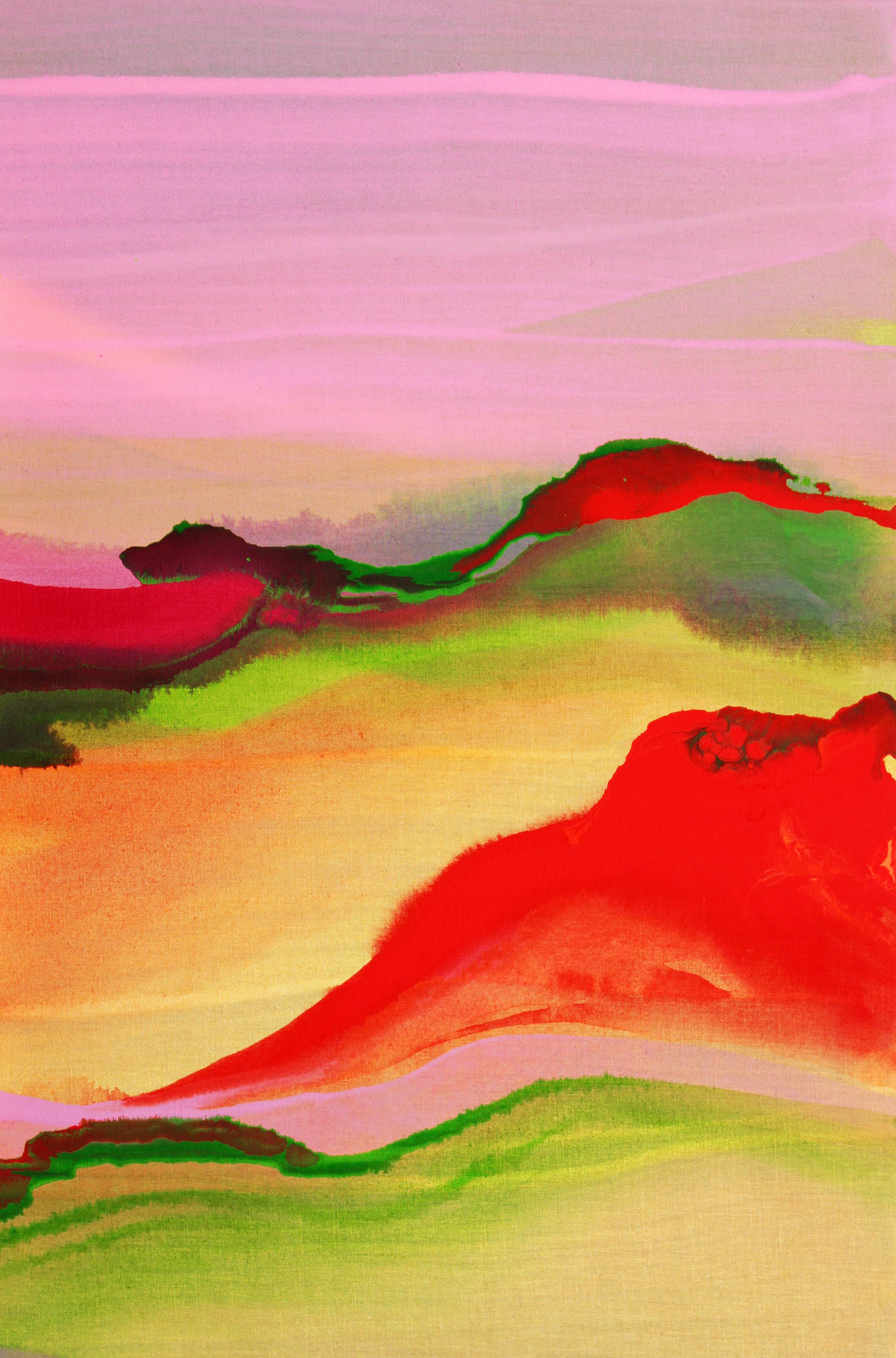 Nico Munuera: Fusima Color XXI, 2016. Acrylic on Linen, 35 1/2 x 23 1/2 inches