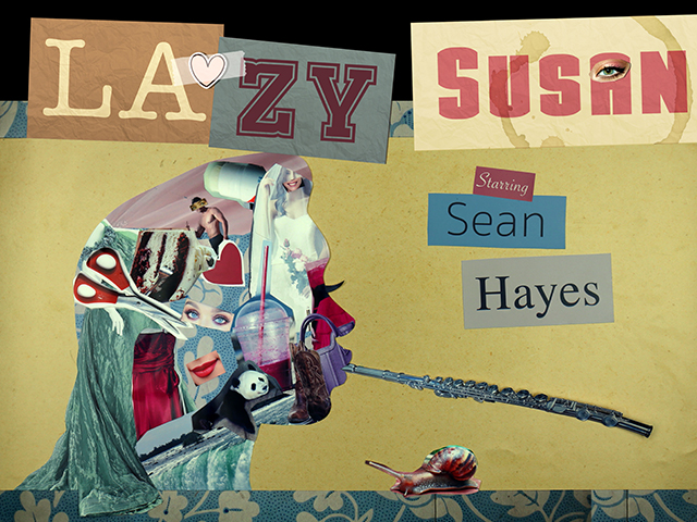 Post-production for Lazy Susan. - Sean Hayes plays a frumpy, bumbling, unmotivated woman named Susan who, despite her best efforts, always manages to get herself in the most ridiculous, embarrassing situations imaginable.Starring: Sean Hayes, Allison Janney, Matthew Broderick, Margo Martindale, Jim Rash, Darlene Hunt, J.R. Ramirez, Maria Shriver, Carrie Aizley