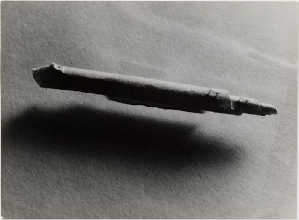 Fig. 6.  Involuntary Sculpture (Elementary Rolling Taken from a Retarded Person)  (1932)