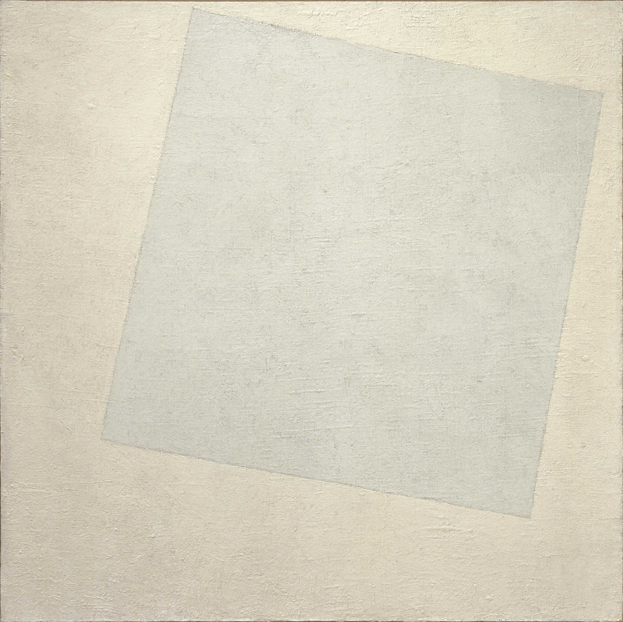 Fig. 2.  Suprematist Composition: White on White  (1918)