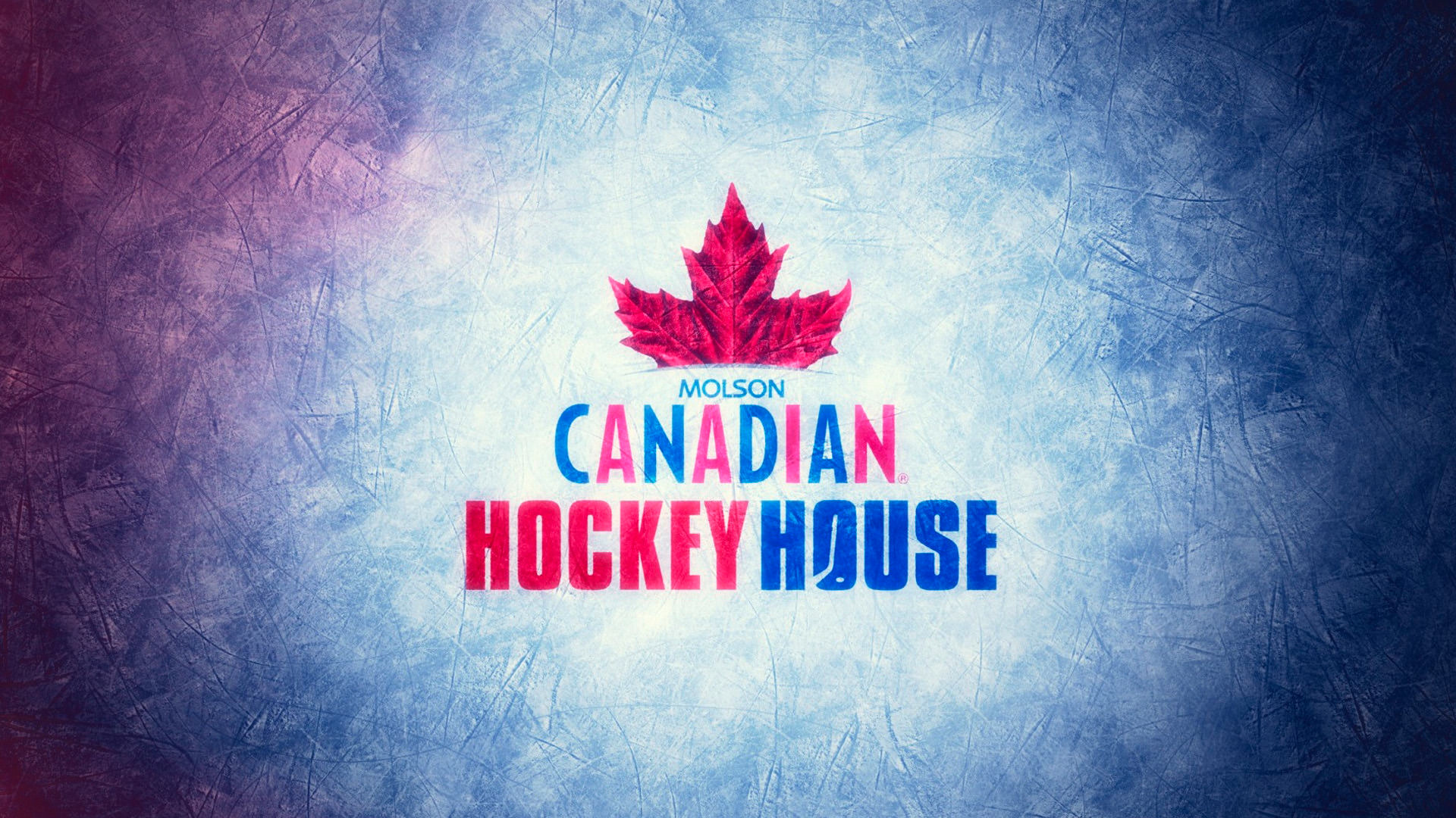 Molson Canadian Hockey House Floor Mural