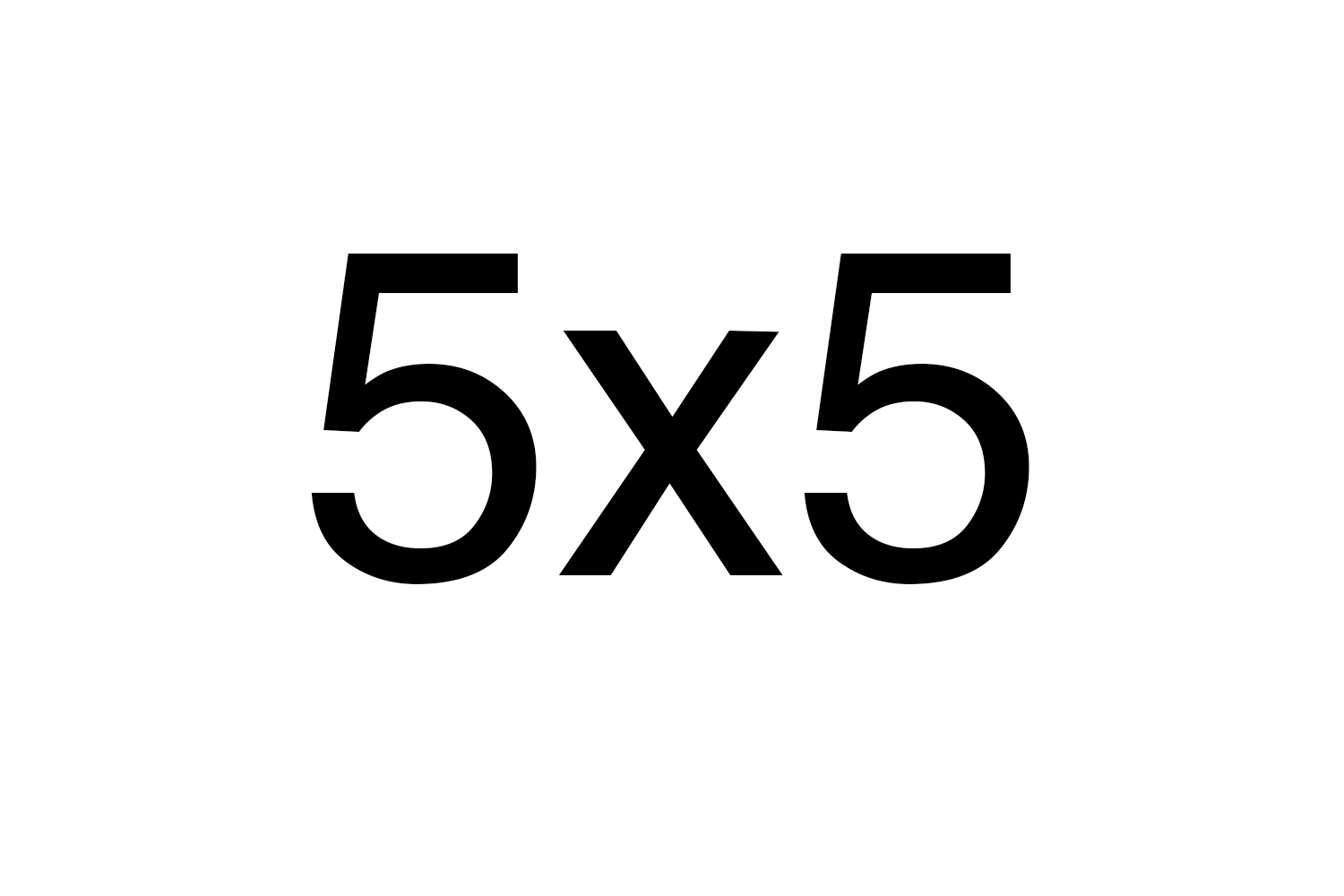 5x5: Participatory Provocations  Traveling Exhibition