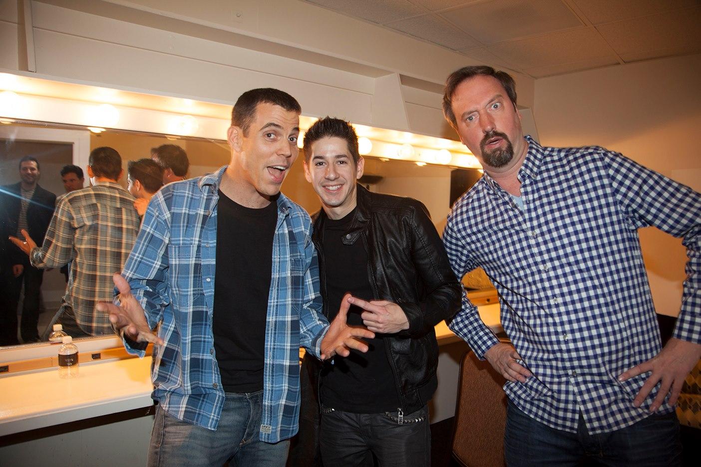 John with Tom Green and Steve O.jpg