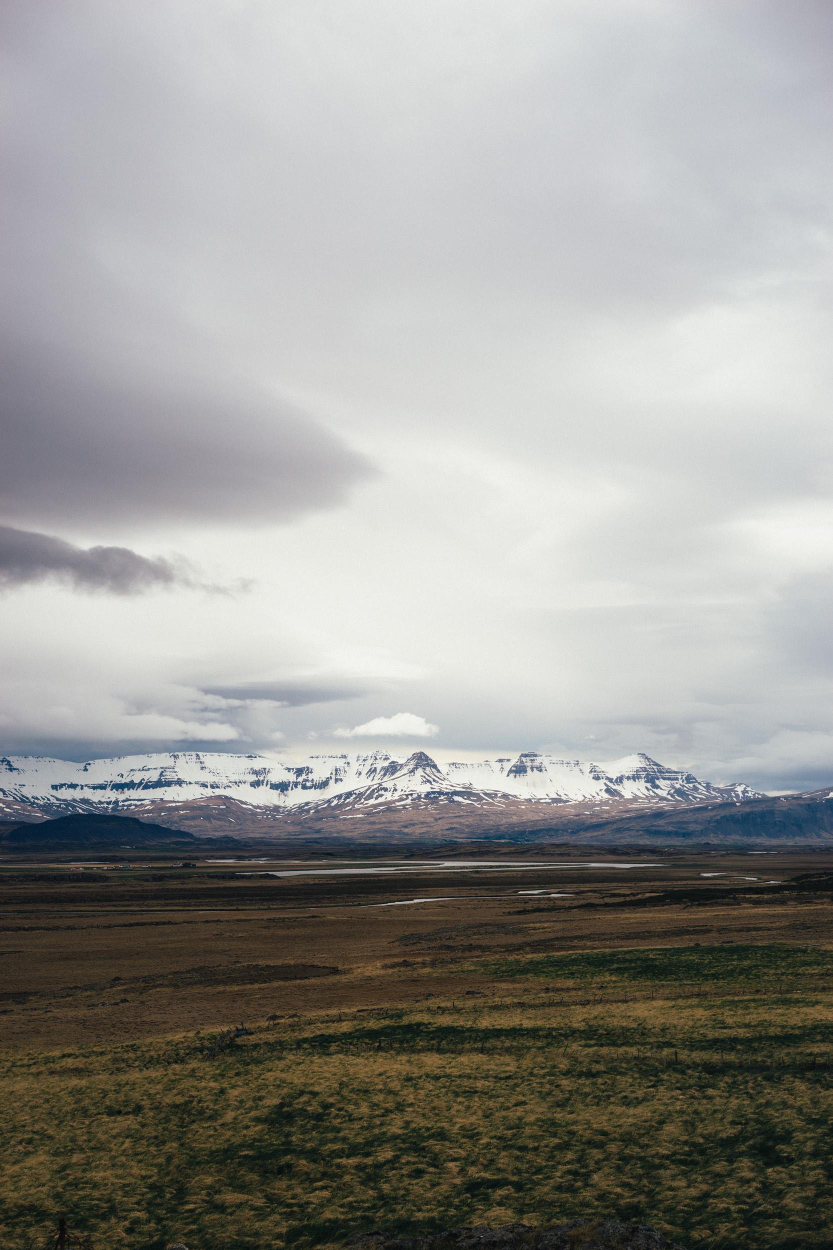 Mountains by Snæfellsjökull