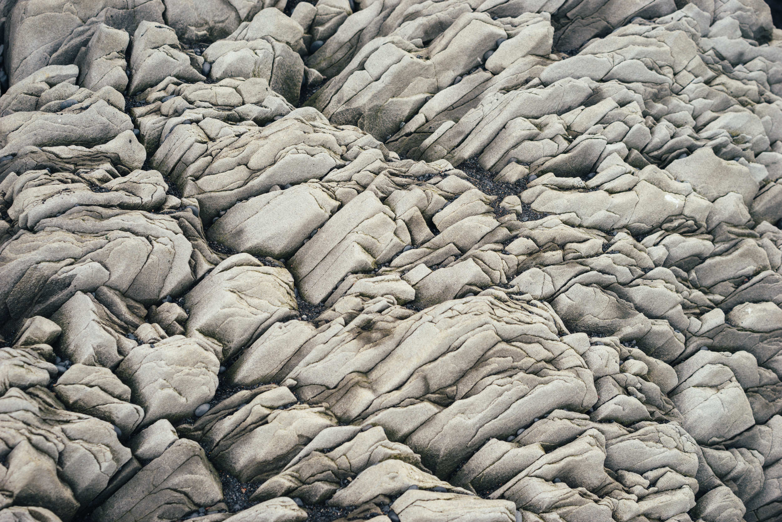 Rocks at Reynisfjara