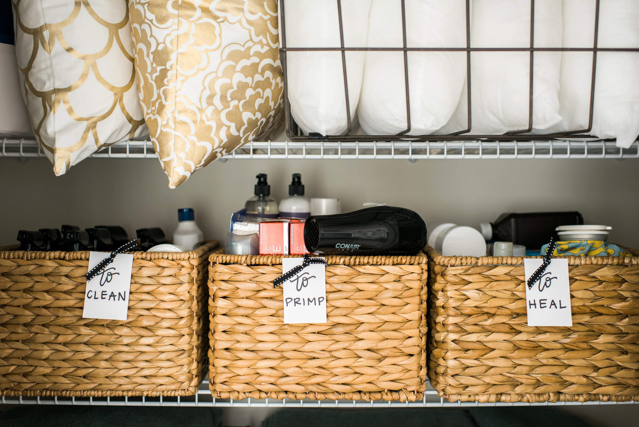 photos + lettering for  Pottery Barn blog