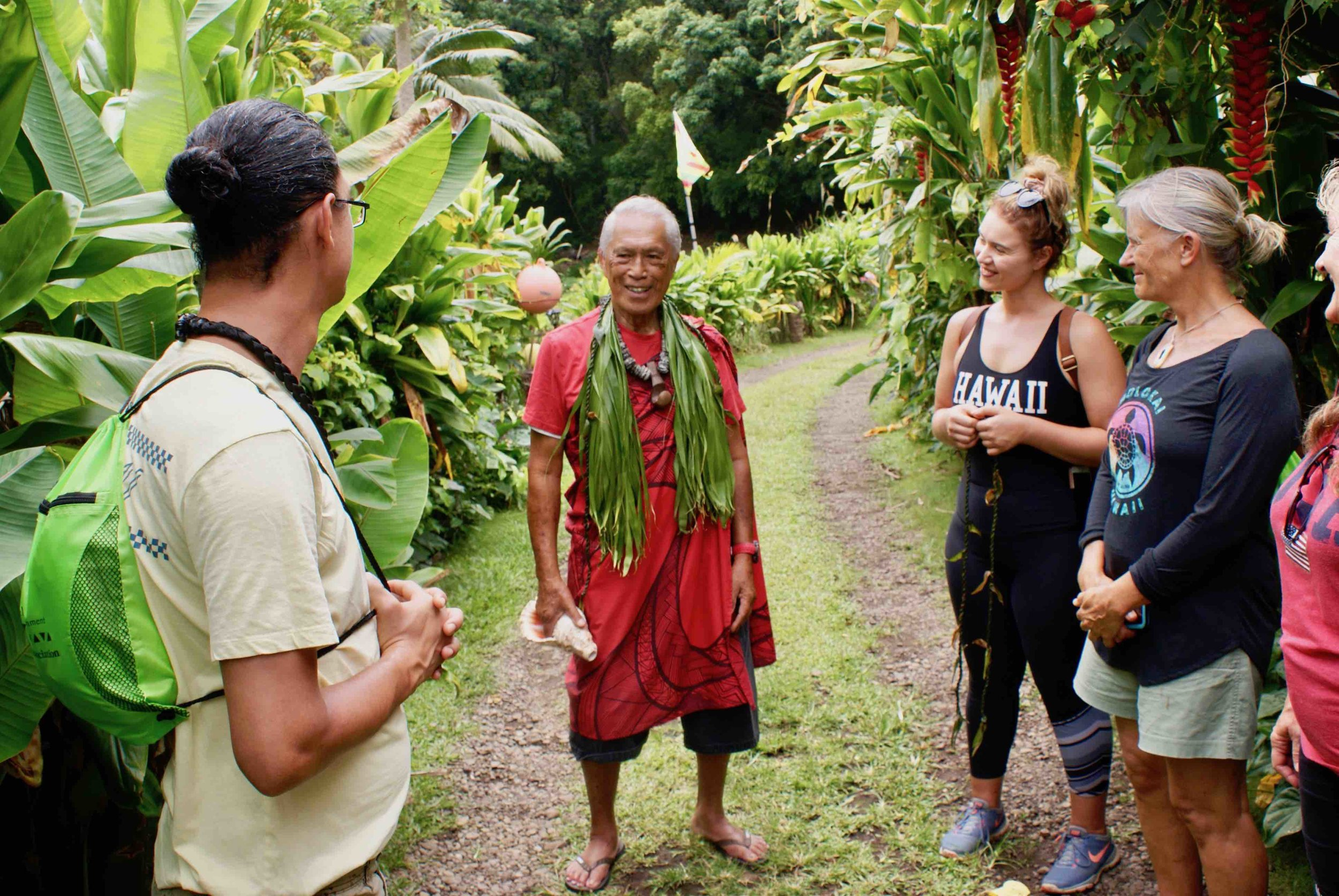 Protocol in Halawa Valley with ʻanakala pilipo.jpg