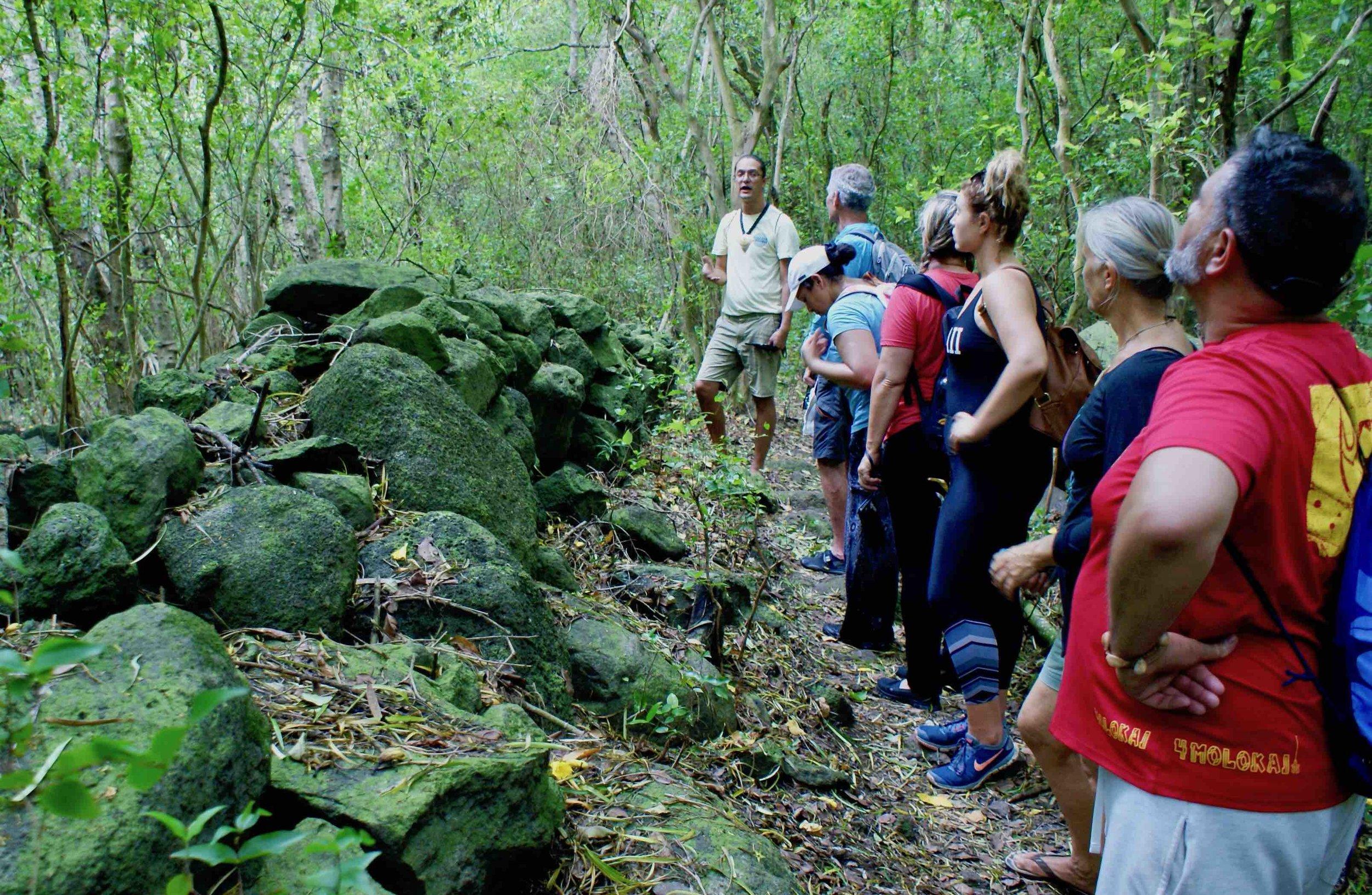 wall halawa valley archeology kumu kawika foster.jpg