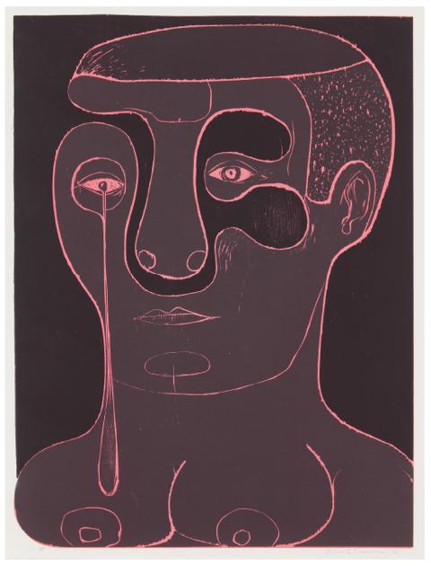 Nicole Eisenman Untitled (Crier) 2012