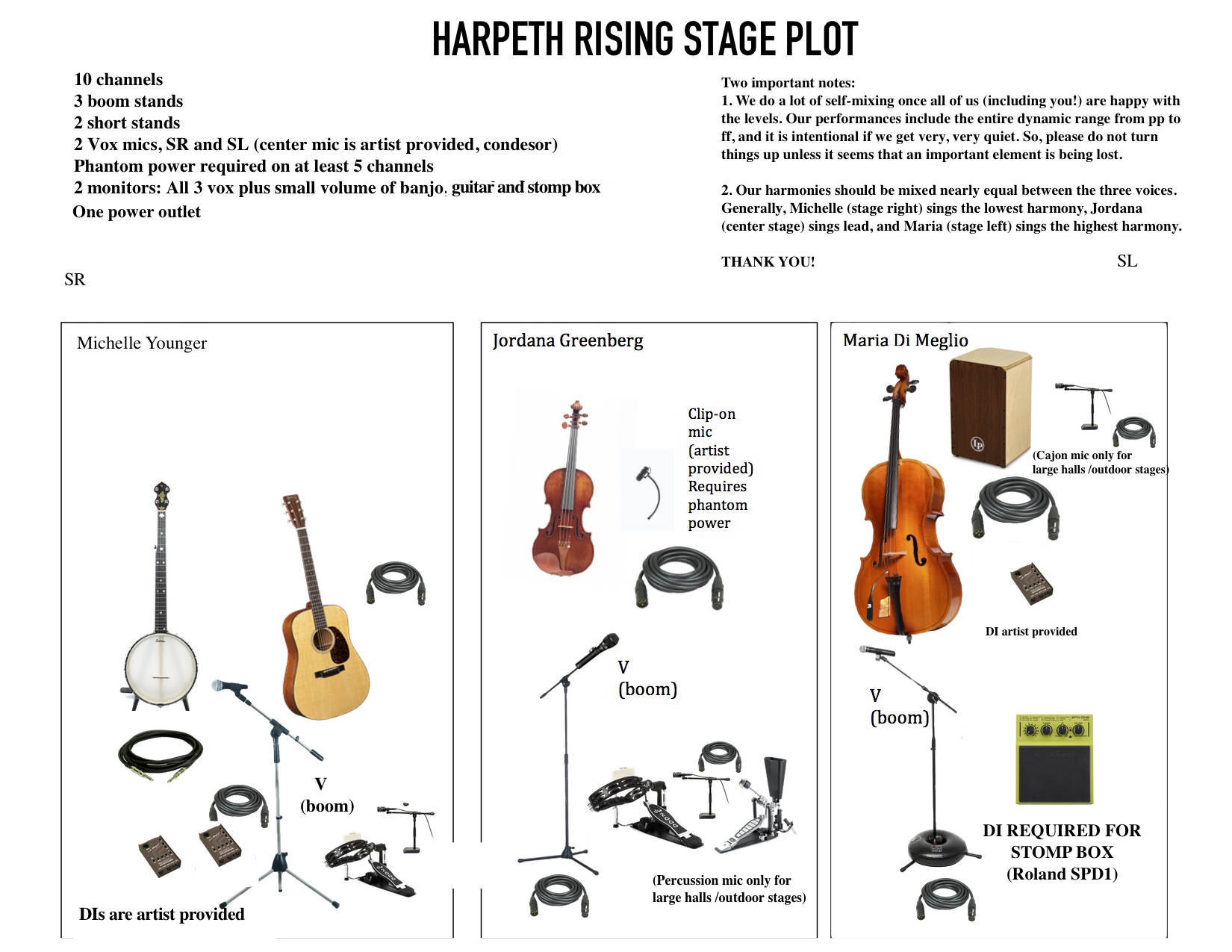 Click to download stage plot