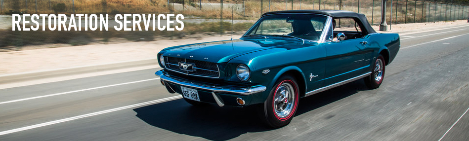 Recently completed concours restoration of a 1965 Twilight Turquoise K-Code Mustang Convertible, Photo:Tadashi Tawarakayama